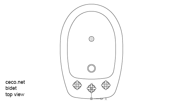 autocad drawing bidet amazon toilet in Bathrooms Detail