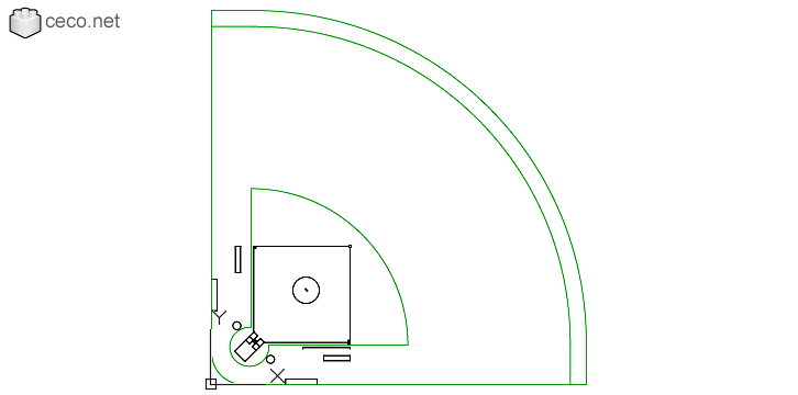 autocad drawing softball field according to World Baseball Softball Confederation in Equipment, Sports Gym Fitness