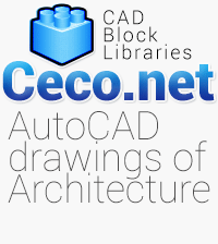 Autocad blocks drawings for architecture engineering designs
